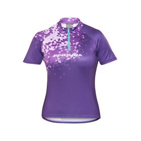 Endura Singletrack II Kortärmad cykeltröja Dam violett